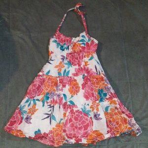 3/$18.  Girls L (12) floral dress